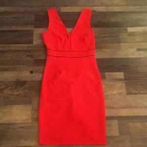 Orange dress size medium